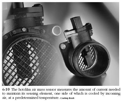 air mass sensor Diesel Engine Sensors